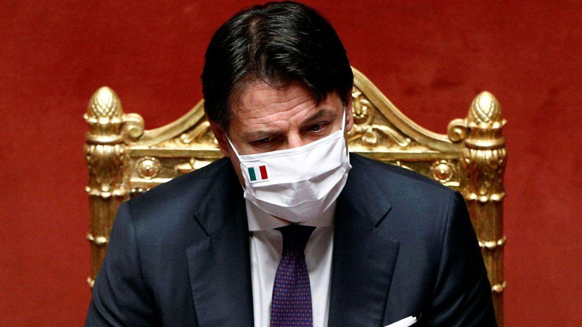 Conte agrieta a la oposición italiana
