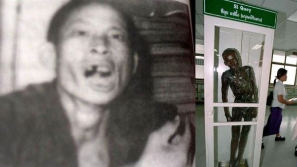 Incineran el cuerpo de un conocido asesino en serie tailandés que llevaba 60 años en un museo