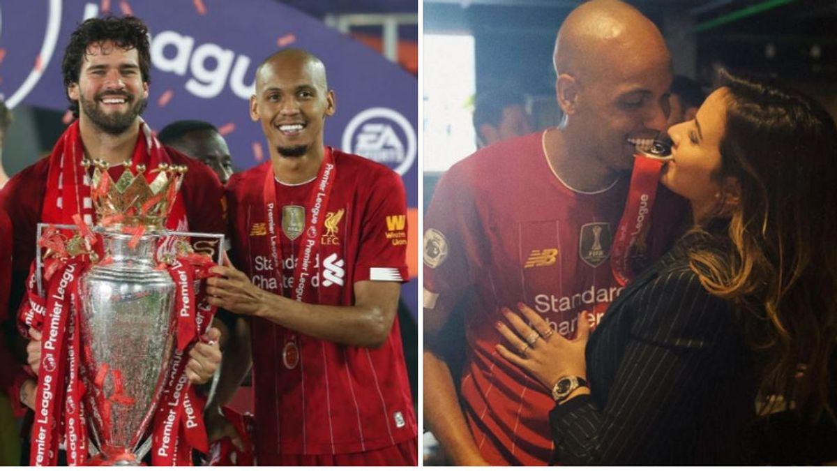 Roban el coche y en la casa de Fabinho mientras celebraba la Premier League con el Liverpool