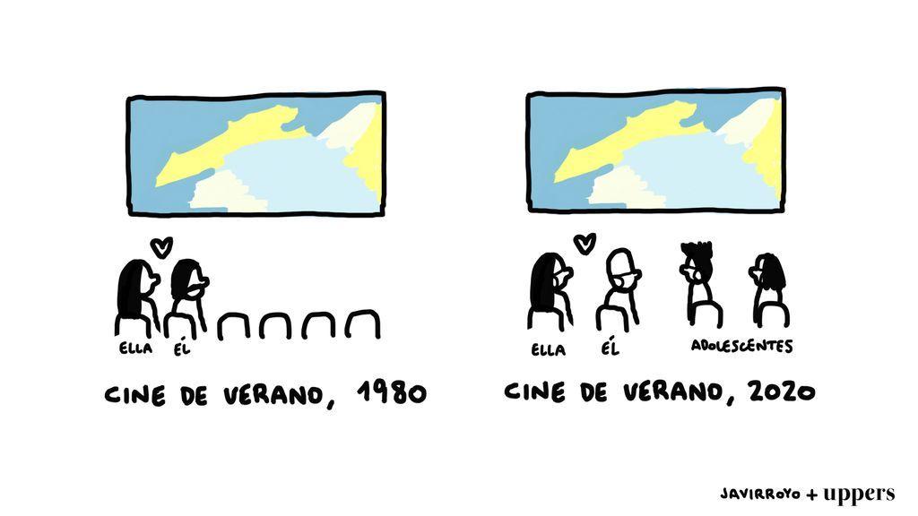 La viñeta de Javirroyo: 'Cine de Verano'