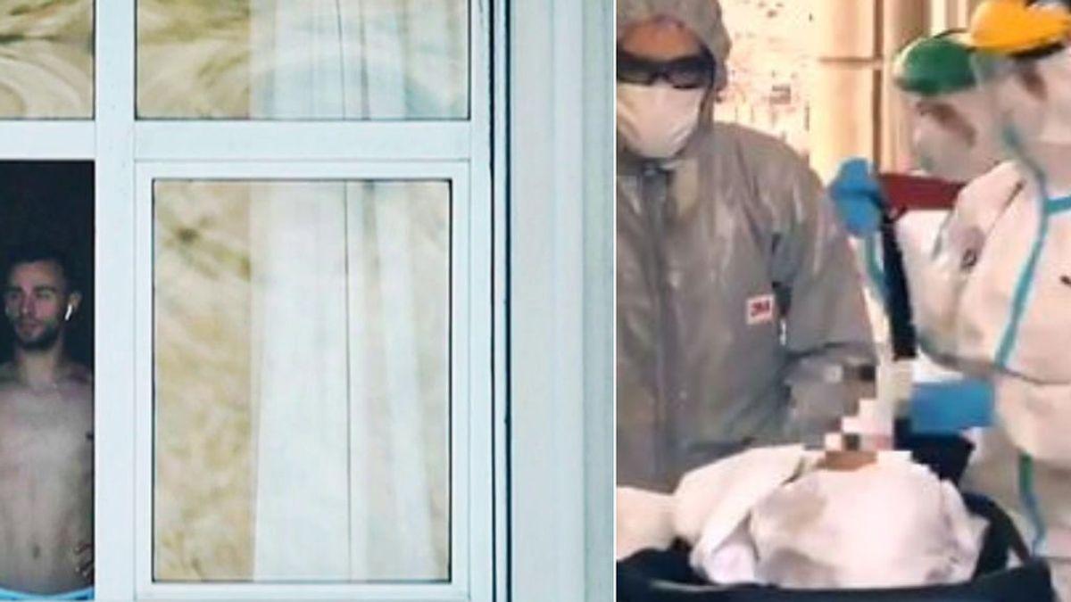 Un jugador del Fuenlabrada, trasladado al hospital de A Coruña, aunque no reviste gravedad