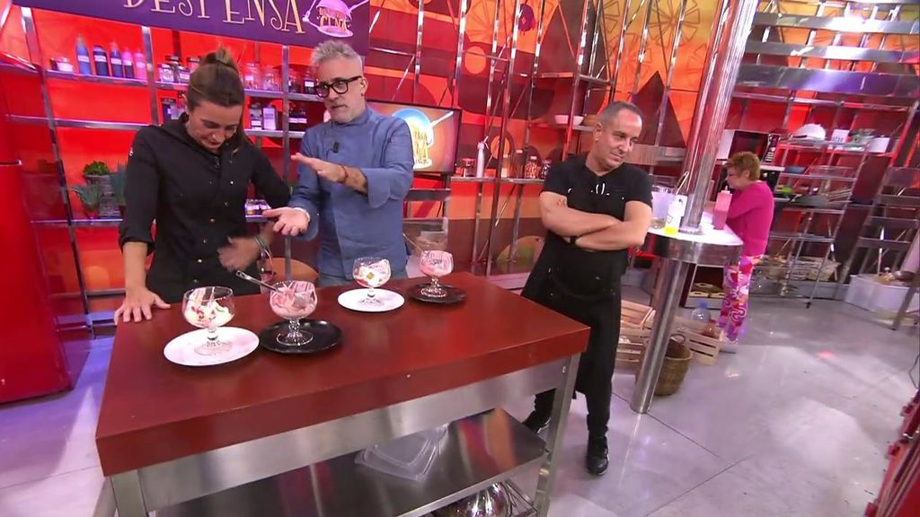 La bronca de los chefs por el postre de Terelu y Víctor