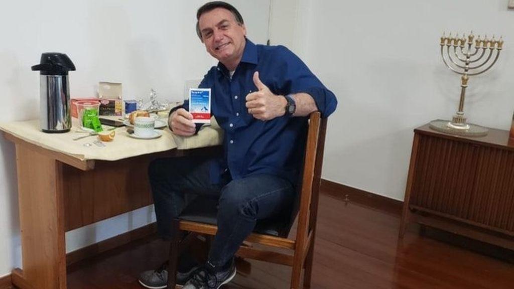 Bolsonaro anuncia que ha dado negativo en su última prueba de coronavirus
