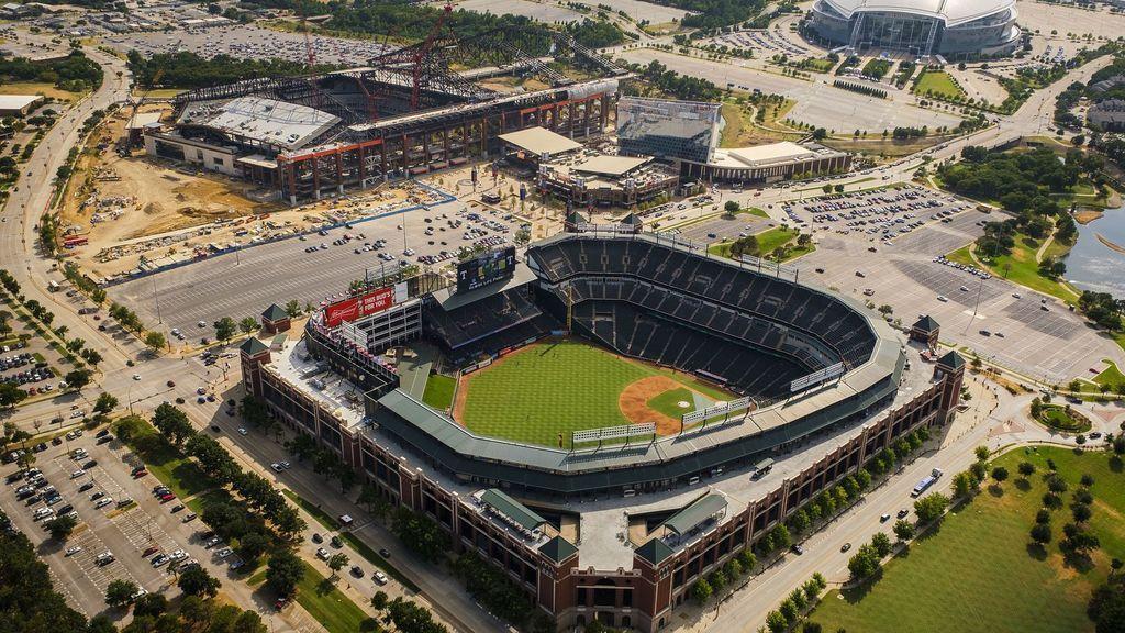 vista aérea del AT&T Park en San Francisco