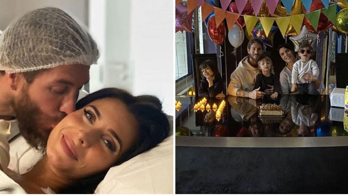 """El mensaje de Sergio Ramos tras ser padre de su cuarto hijo: """"Inmensamente felices de poder presentaros a Máximo Adriano"""""""