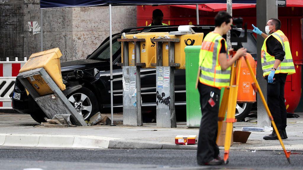 Un conductor atropella a un grupo de personas en las inmediaciones de una estación de tren en Berlín