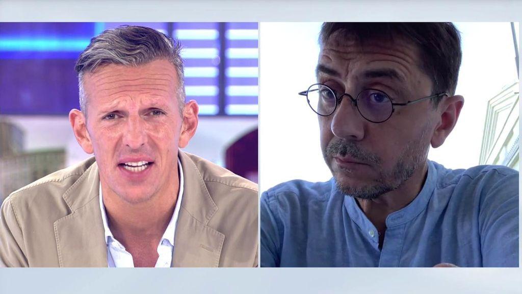 """Joaquín Prat pide a Monedero que no insinúe que se lleva mal con Carlos Cuesta: """"No podemos transmitir esa imagen de confrontación"""""""