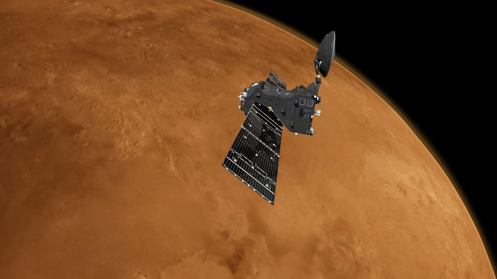 Una misión encuentra ozono en la atmósfera de Marte