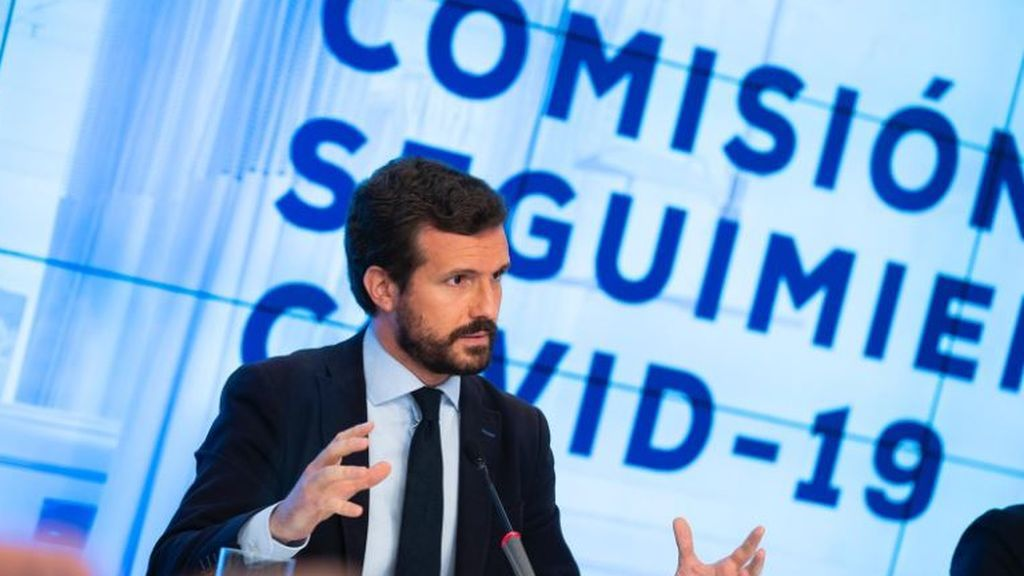 """Casado exige que Sánchez asuma ya el mando único: """"No hay vacío legal"""""""