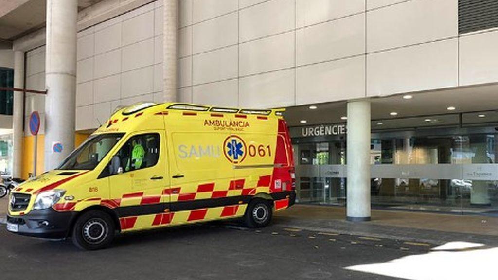En estado muy grave una niña de dos años al caerse desde un tercer piso en Palma