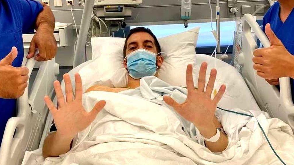 David Broncano, tras su operación para corregir la sudoración de manos