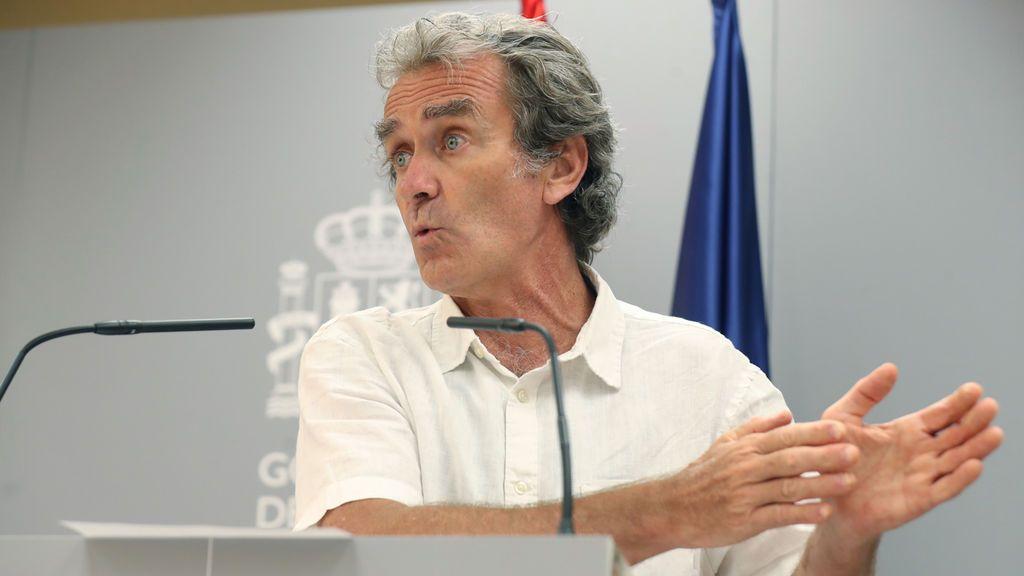 Simón anuncia que España suma 361 brotes activos y no cree que el país esté en una segunda ola