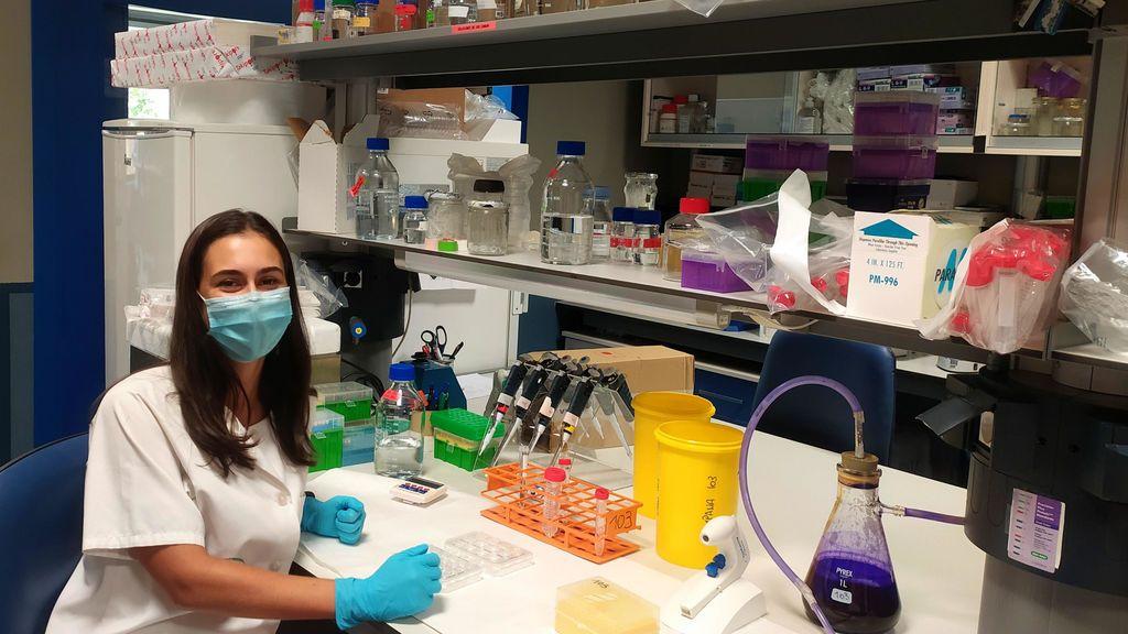 """Aida Amador, joven investigadora: """"El COVID-19 ha  puesto en evidencia que sin ciencia no hay futuro"""""""