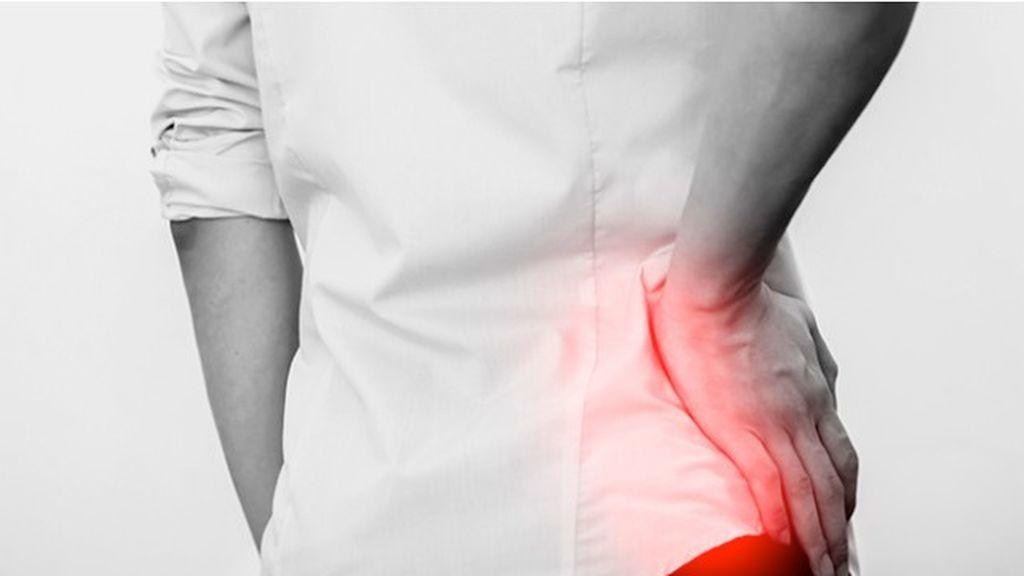 dolor en la cadera producido por bursitis