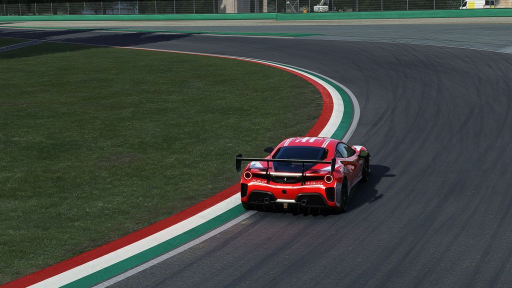 Ferrari 488 Challenge Evo en Imola