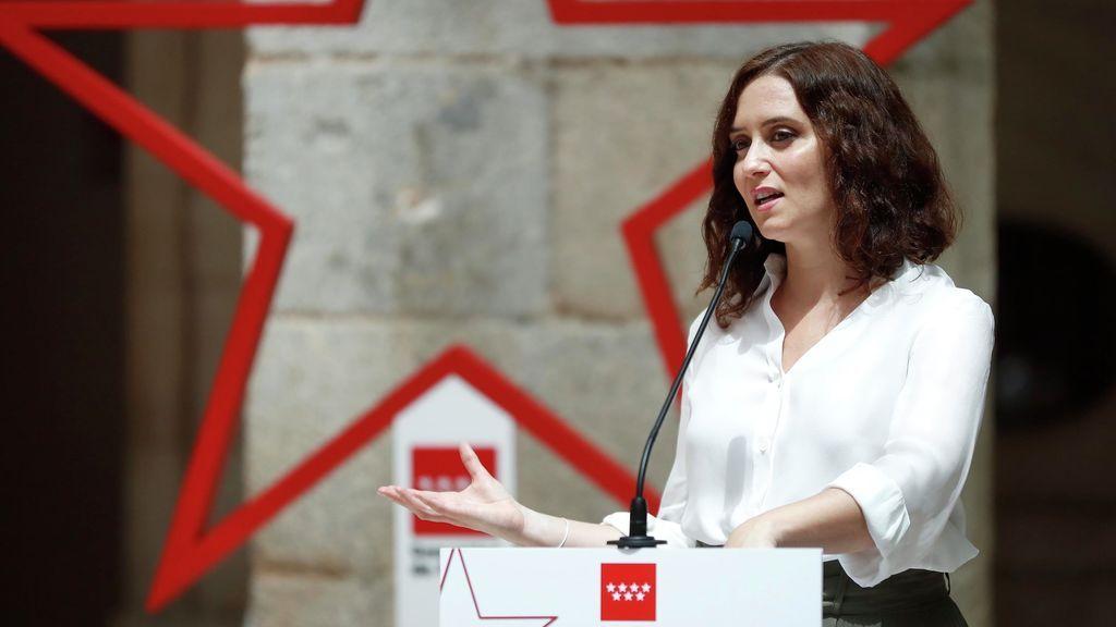 Ayuso presenta el plan de Madrid contra los rebrotes de coronavirus