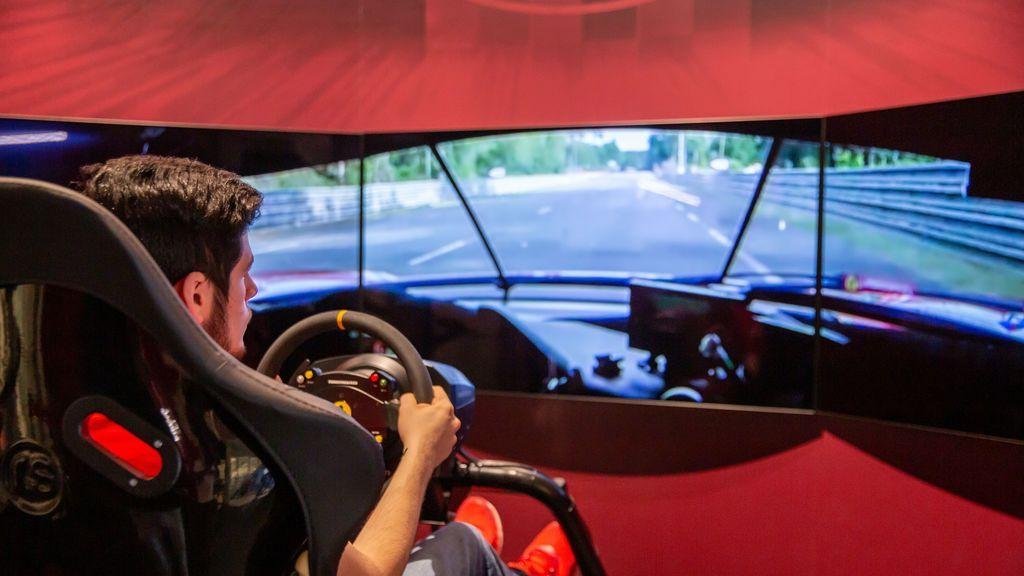 David Tonizza, piloto virtual de Ferrari