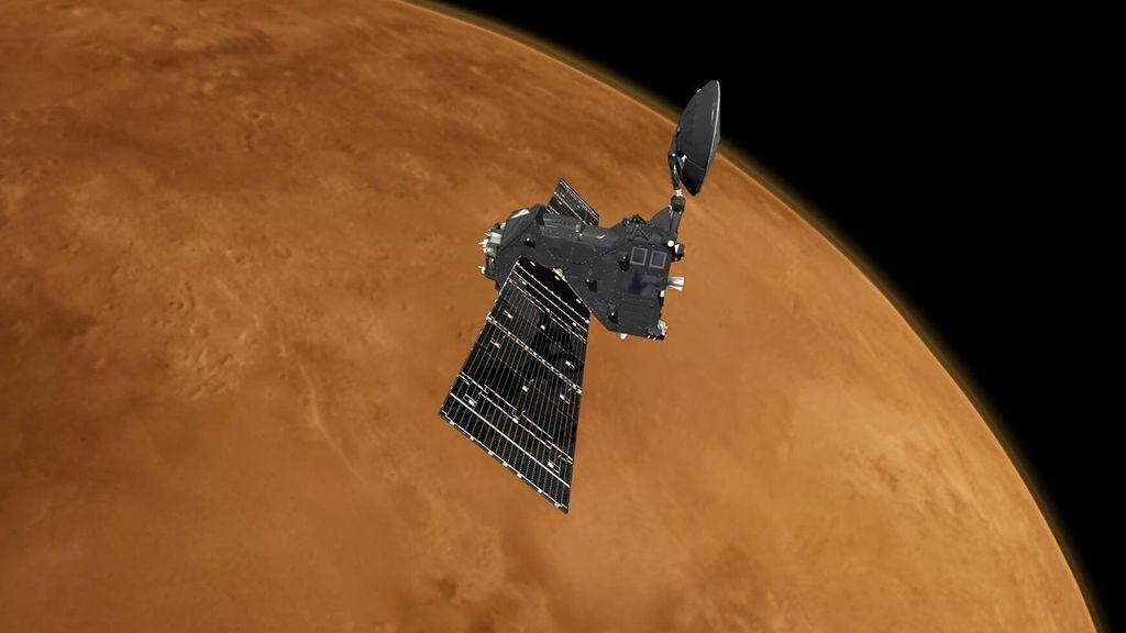 La misión ExoMars TGO encuentra ozono y CO2 en la atmósfera de Marte