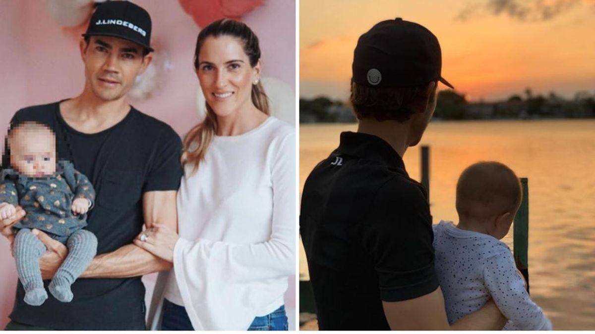 """Muere a los 22 meses la hija del golfista Camilo Villegas tras un cáncer terminal: """"Descansa en paz, princesa"""""""