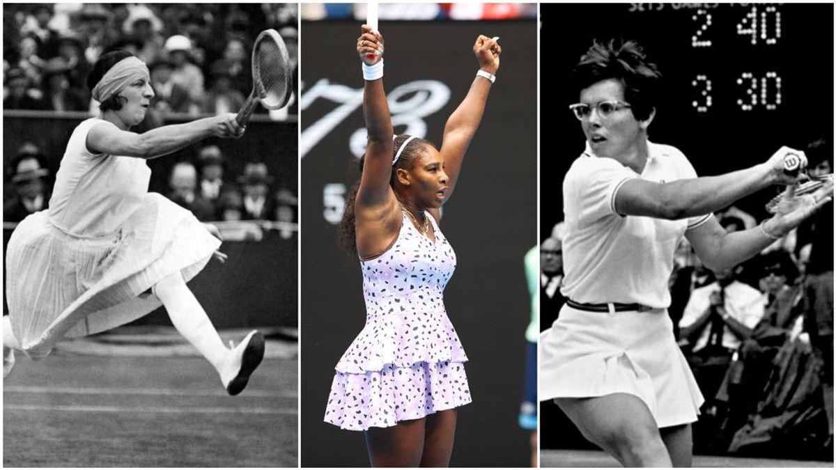Las 10 mejores tenistas femeninas de la historia