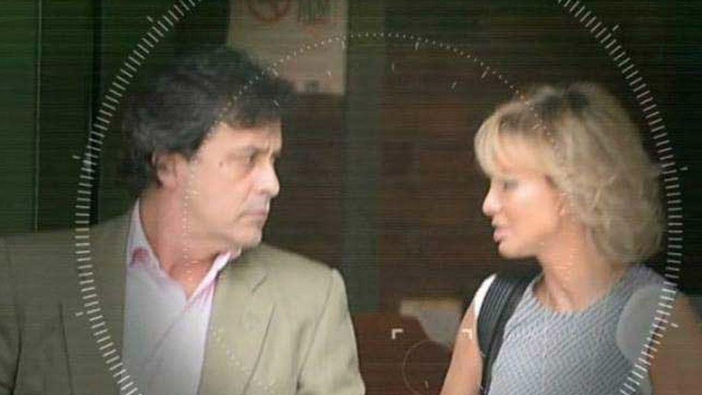Corinna y Marcelo Carvalho, en las fotos tomadas en Río de Janeiro