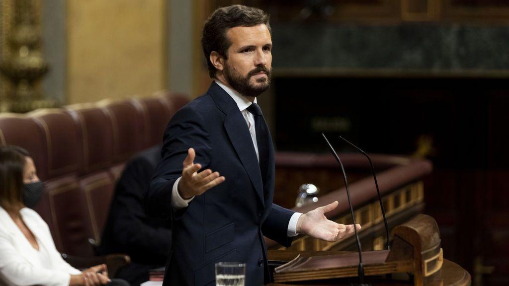 """Casado a Sánchez: """"Acabemos con el triunfalismo y dedíquese a los rebrotes"""""""