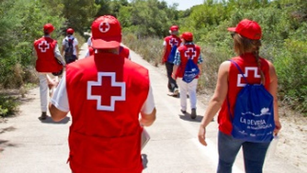 Dos detenidos por revender bricks de leche donados a la Cruz Roja