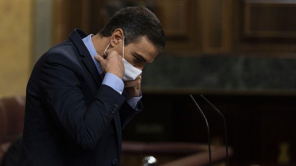 """Sánchez se mofa de la moción de censura de Vox: """"¿Por qué esperar a septiembre?, ¿se va de vacaciones?"""""""