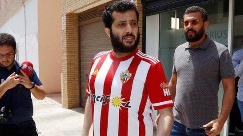 El  Almería confirma un positivo por coronavirus en el equipo