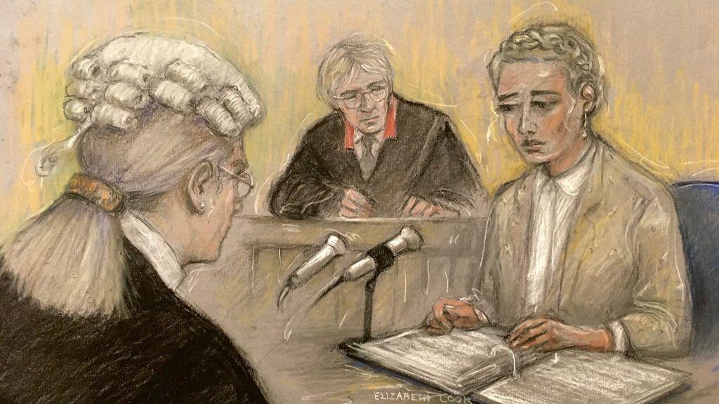 Amber Heard en el juicio