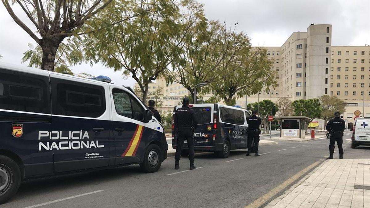 Patrulla de la Policía Nacional en Alicante.