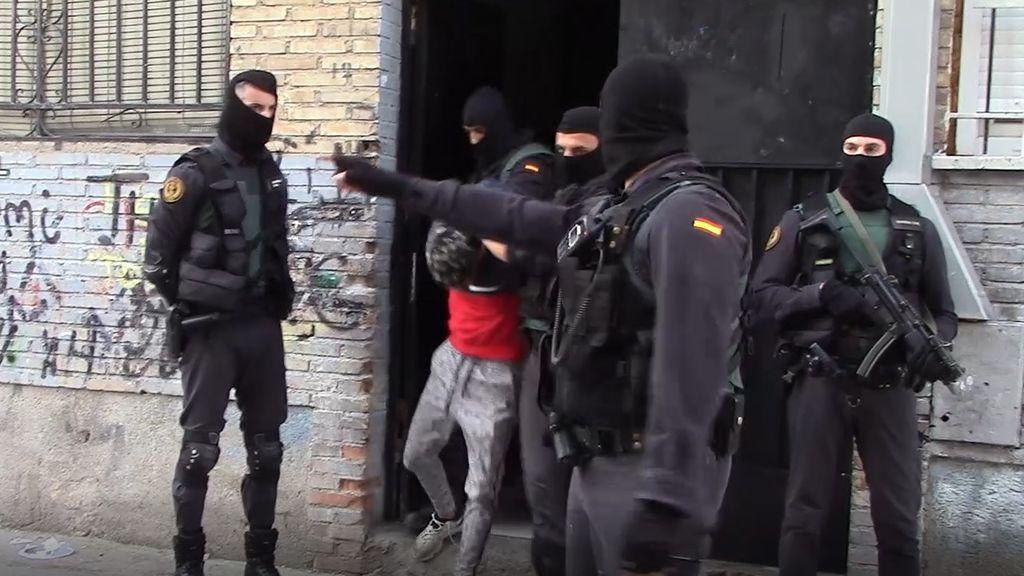 detencion atracadores