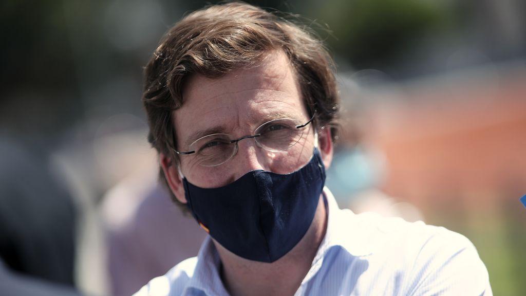 Las multa por no llevar mascarilla en Madrid rondará los 100 euros, según el cálculo del alcalde