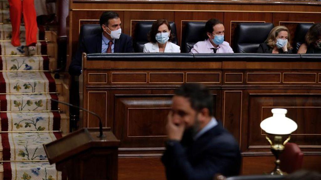 Abascal anuncia una moción de censura contra Sánchez