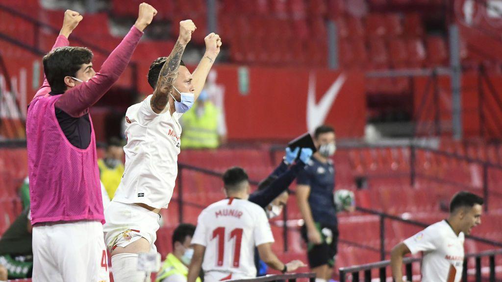 El Sevilla confirma el positivo por coronavirus de uno de sus jugadores