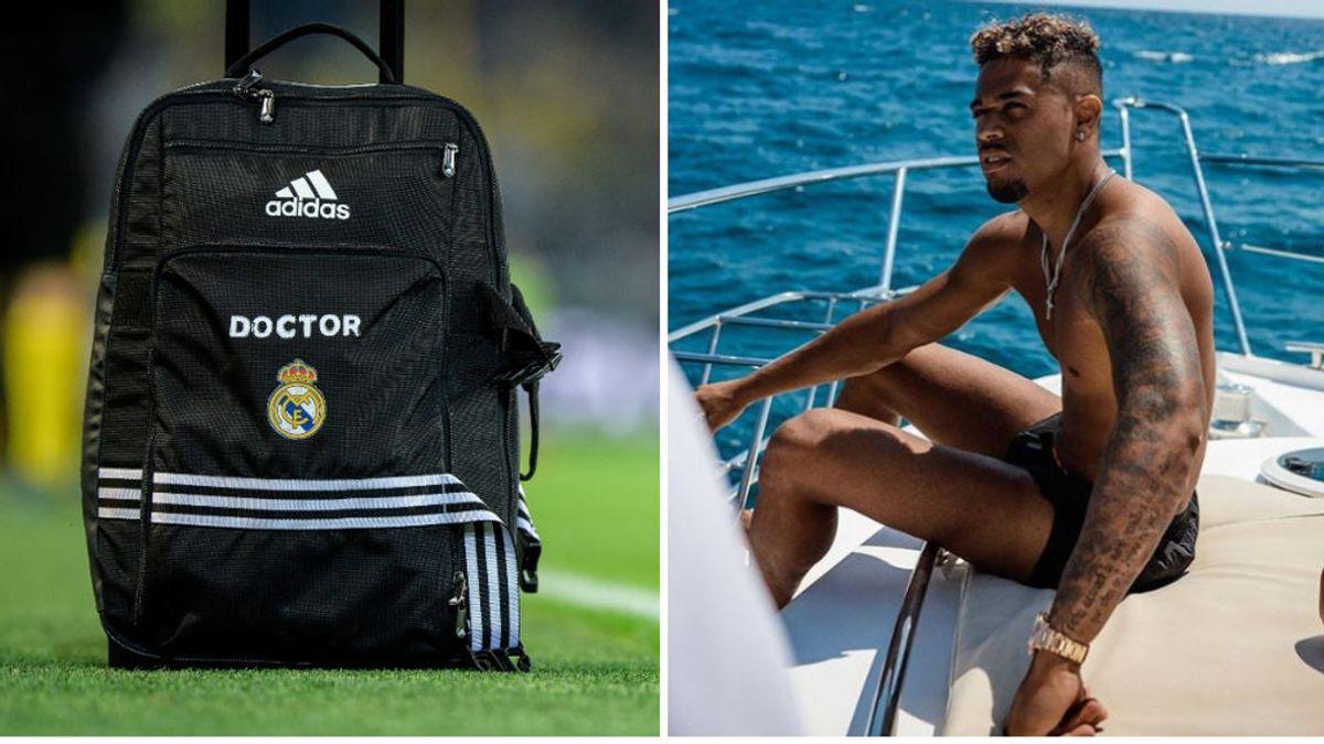 Los médicos del Real Madrid trazaron un plan de contención tras saber que Mariano estaba de vacaciones en Cataluña