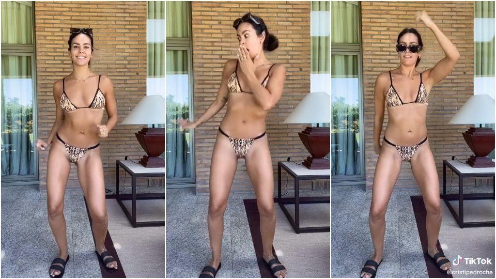 Un bikini diminuto y millones de reproducciones: el TikTok de Cristina Pedroche que ya es el baile del verano