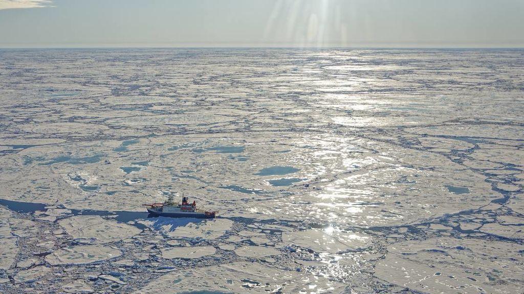 Extensión de hielo ártico, bajo mínimos: registra un récord negativo para julio