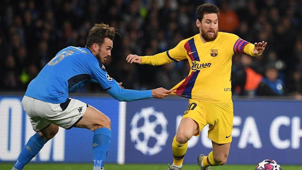 La UEFA medita que el Barça-Nápoles no se juegue en el Camp Nou debido al aumento de positivos en Cataluña