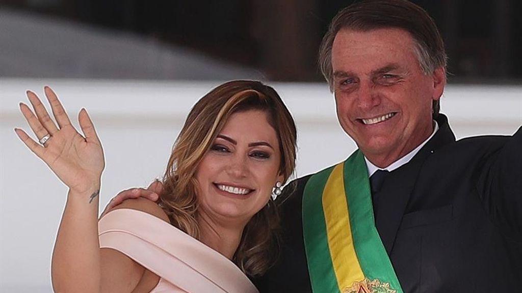 La esposa de Bolsonaro, positivo en coronavirus