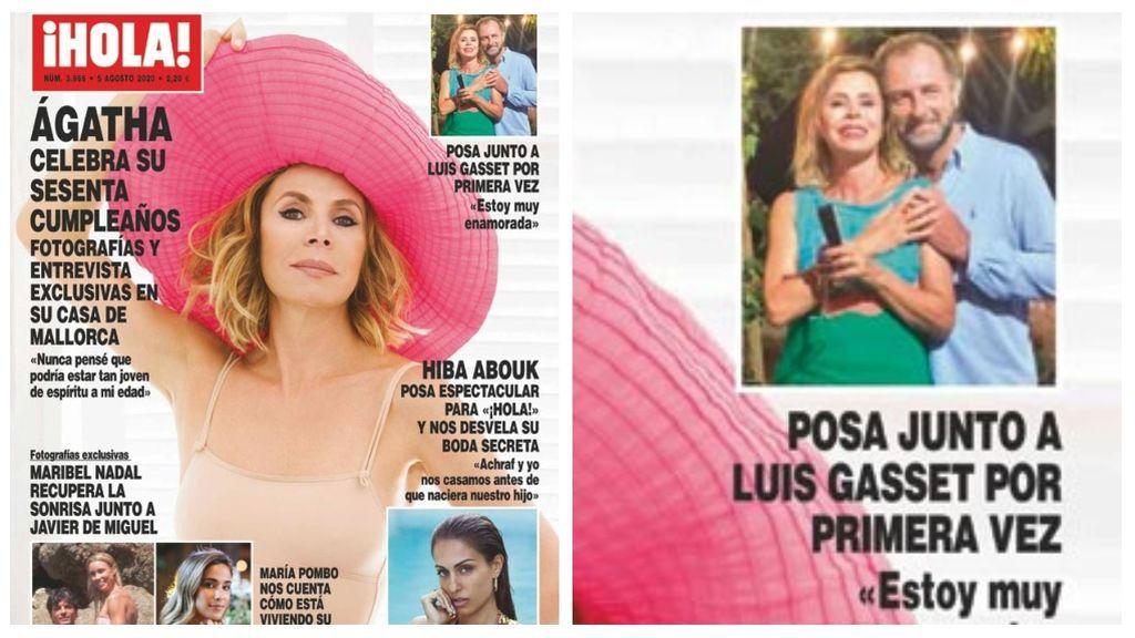 Agatha Ruiz de la Prada posa por primera vez junto a Luis Gasset