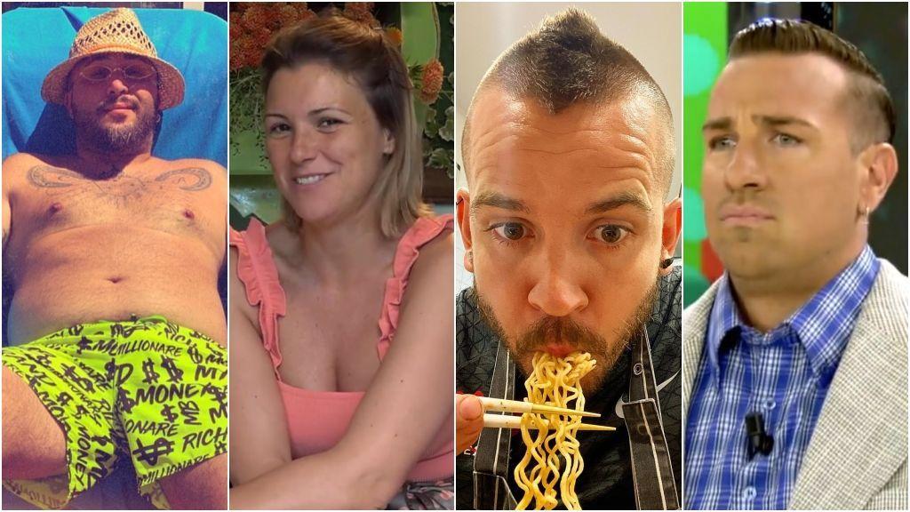 Un verano redondo: los famosos también han ganado peso en la cuarentena