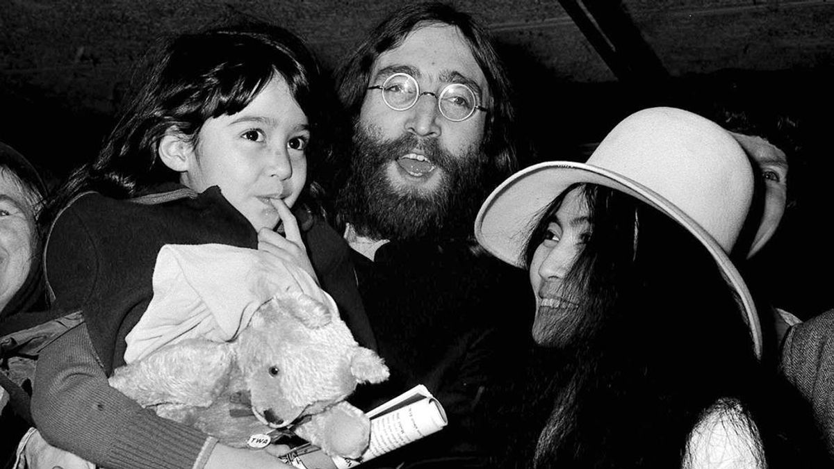 Yoko Ono John Lennon secuestro hija