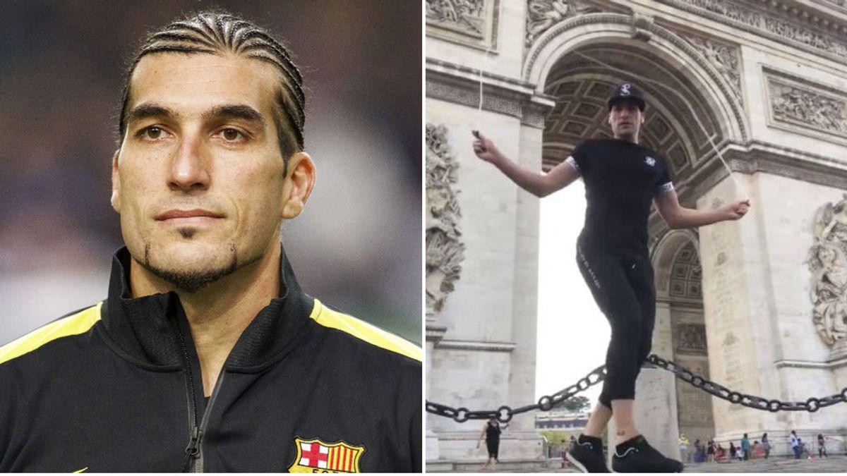 De ser campeón de la Champions con Messi, a acabar de profesor de zumba: la nueva vida de Pinto
