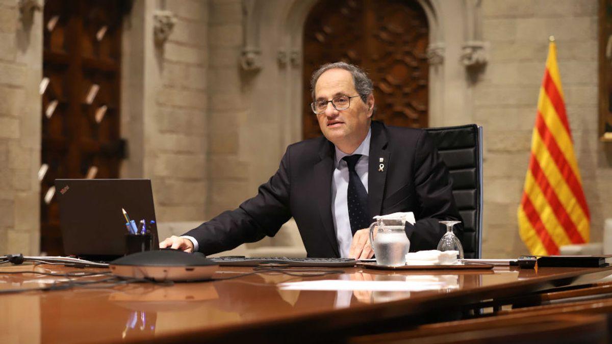 Torra comunica a Sánchez que no asistirá a la Conferencia de Presidentes de La Rioja