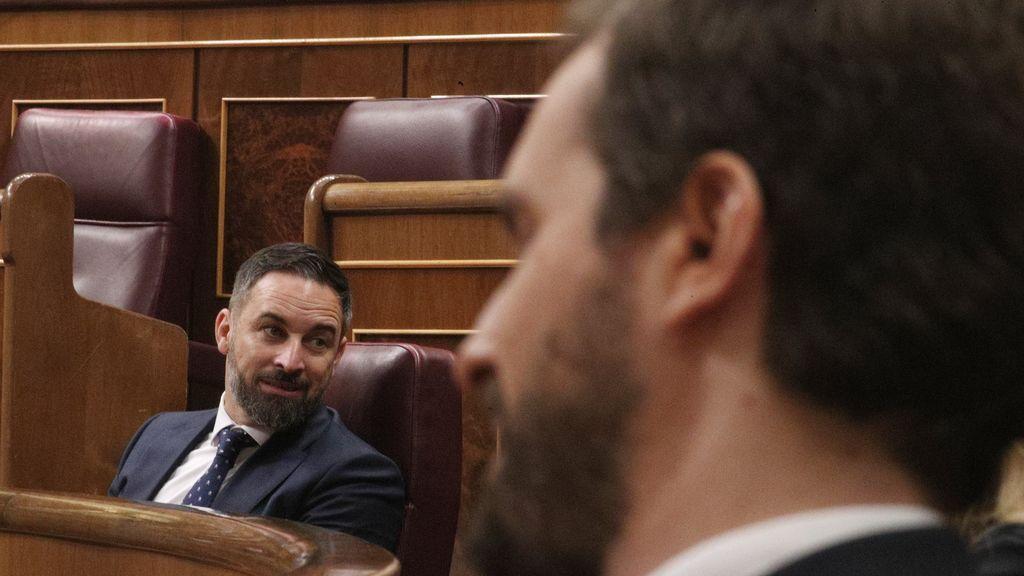 """Casado contesta a Abascal y su moción de censura que """"ganará a la izquierda en las urnas"""""""