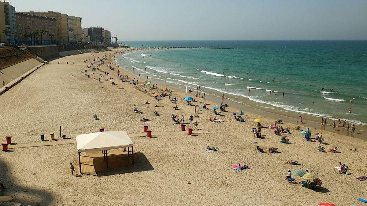 La playa de Santa María del Mar