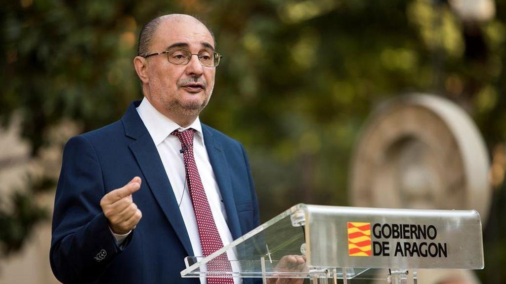 """El presidente de Aragón acusa: """"Quienes introducen el virus en las residencias son los trabajadores"""""""