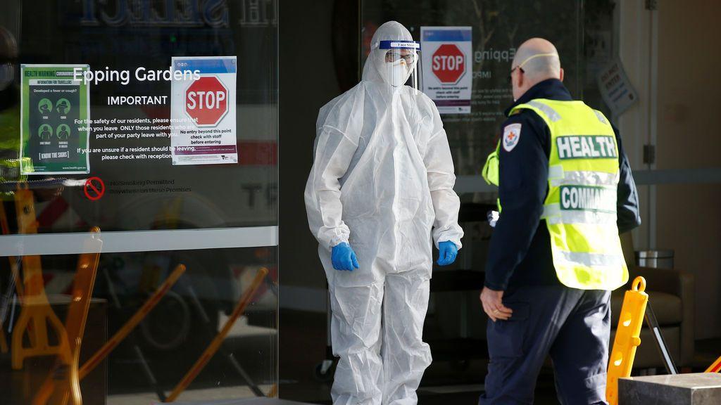 Australia récord casos y muertes por coronavirus