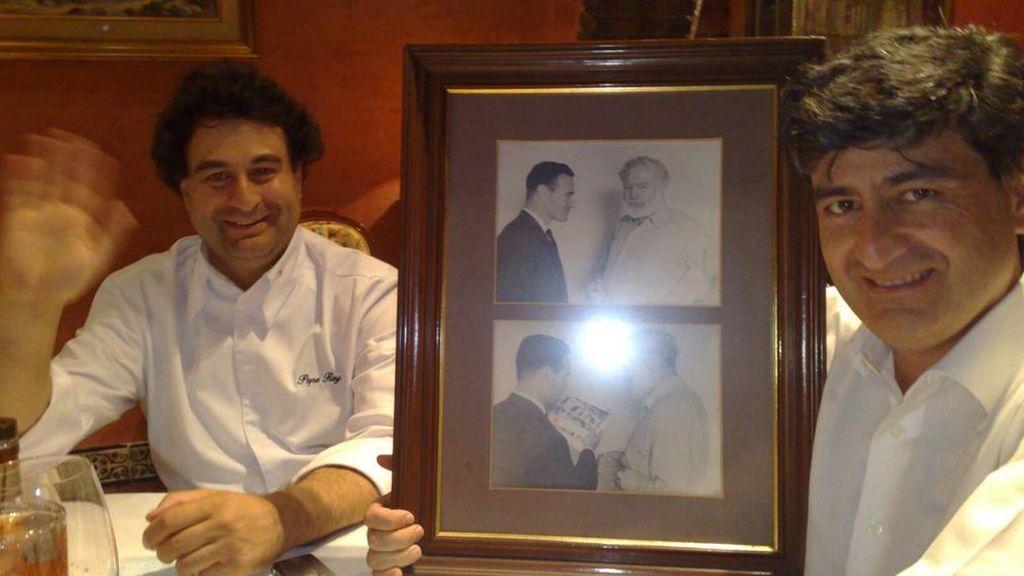 Pepe Rodríguez y su hermano
